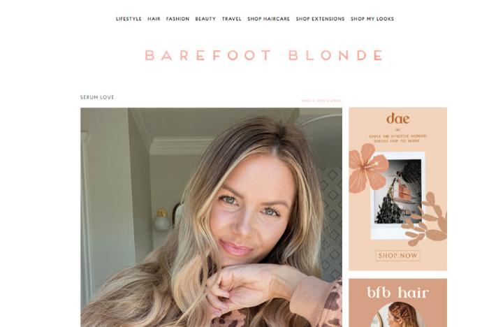Barefoot Blonde Lifestyle Blog