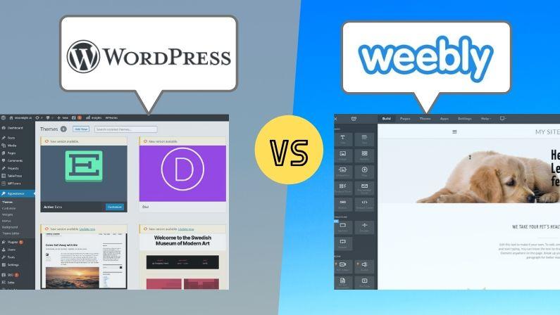 WordPress vs Weebly: The Complete Breakdown