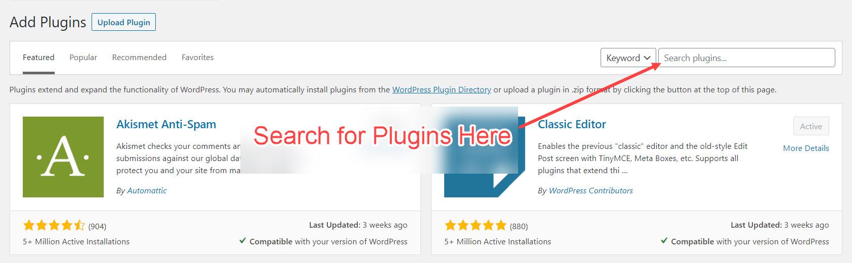 Adding Essential Plugins to Blog