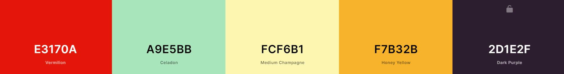 Color Scheme Generator for new blog