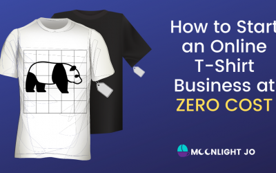 How to Start an Online T-Shirt Business at Zero Cost