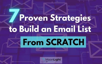 7 Proven Strategies to Build an Email List from Scratch